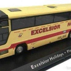 Coches a escala: EXCELSIOR HOLIDAYS PLAXTON EXCALIBUR 1:72 IXO ATLAS AUTOBÚS BUS COACH. Lote 204655908