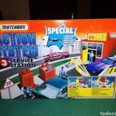 Coches a escala: MATCHBOX ACTION SYSTEM STATION. Lote 209854043