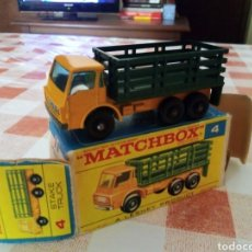 Coches a escala: MATCHBOX STAKE TRUCK. Lote 213284945