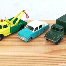Auto in scala: LOTE 3 AUTOS LESNEY MATCHBOX ENGLAND. Lote 214795230