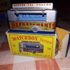 Coches a escala: MATCHBOX CANTEEN. Lote 217613153