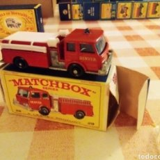 Coches a escala: MATCHBOX PUMPER TRUCK. Lote 218237477