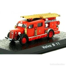Coches a escala: VOLVO B11 CAMION BOMBEROS 1:72 ATLAS DIECAST. Lote 243499795