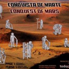 Coches a escala: NOVEDAD FIGURAS PARA DIORAMAS SOBRE LA CONQUISTA DE MARTE ESCALA 1/72 - NEW LOT FIGURES OF MARS 1:72. Lote 229904765