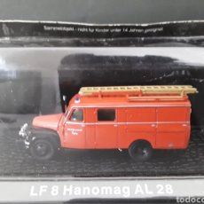Coches a escala: CAMION DE BOMBEROS DIE - CAST 1:72 LF 8 HANOMAG AL 28 9 CM METAL. Lote 231722420