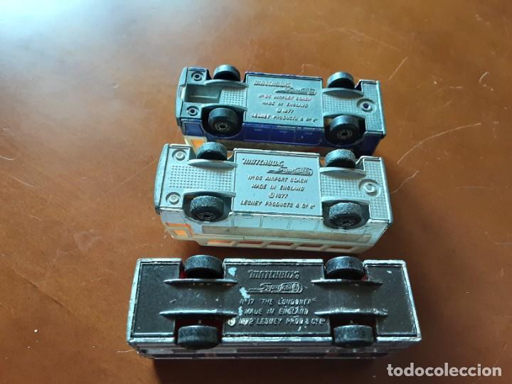 Coches a escala: Autobuses matchbox england - Foto 3 - 253475435