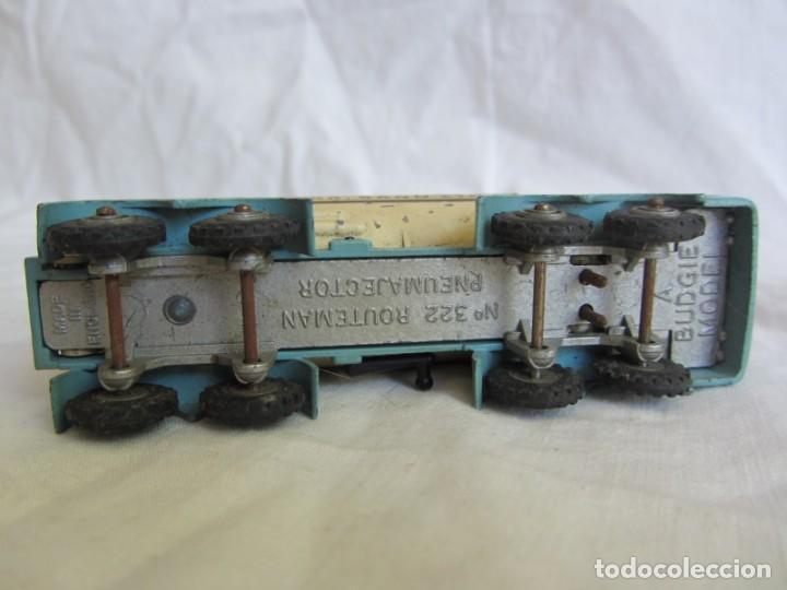 Coches a escala: Camión Routeman Pneumajector nº 322 Budgie Toys, escala aproximada 1/72 - Foto 7 - 255549390