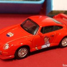 Coches a escala: EDICIÓN LIMITADA PEPSI COLA - PORCHE 911 GT - CARARAMA - CAJA DE METAL - ESCALA 1:72. Lote 260059780