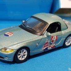 Coches a escala: EDICIÓN LIMITADA PEPSI COLA - BMW Z4 ROADSTER - CARARAMA - CAJA DE METAL - ESCALA 1:72. Lote 260061665