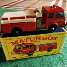 Coches a escala: MATCHBOX FIRE PUMPER TRUCK. Lote 269186938