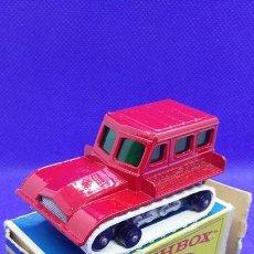 Coches a escala: MATCHBOX Nº 35 SNOW TRAC. Lote 277193638