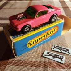 Coches a escala: MATCHBOX FORD MUSTANG WILD CAT. Lote 278959368