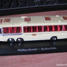 Coches a escala: AUTOCAR BEDFORD VAL DE LA EMPRESA WALLACE ARNOLD.1/72. Lote 288438633