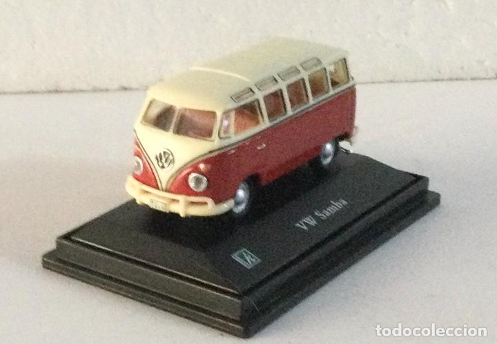 FURGONETA VOLKSWAGEN VW SAMBA. E: 1:72 (Juguetes - Coches a Escala 1:72)