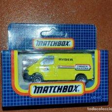 Coches a escala: MATCHBOX - FORD TRANSIT - (AÑOS 80) - MB-60 - SIN USO EN SU CAJA ORIGINAL - PERFECTO.. Lote 292132763