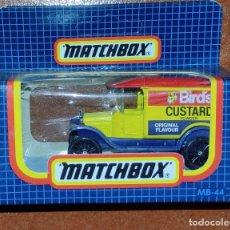 Coches a escala: MATCHBOX - FORD T 1921 - (AÑOS 80) - MB-44 - SIN USO EN SU CAJA ORIGINAL - PERFECTO.. Lote 292133663