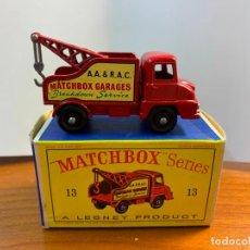 Coches a escala: MATCHBOX LESNEY WRECK TRUCK 13. Lote 294097293
