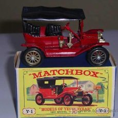 Coches a escala: MATCHBOX YESTERYEAR Y1. FORD MODEL T. Lote 26504061