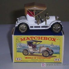 Coches a escala: MATCHBOX Y4 YESTERYEAR OPEL COUPE 1909. Lote 26615776