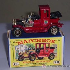 Coches a escala: MATCHBOX YESTERYEAR Y11. 1912 PACKARD LANDAULET. Lote 26504060