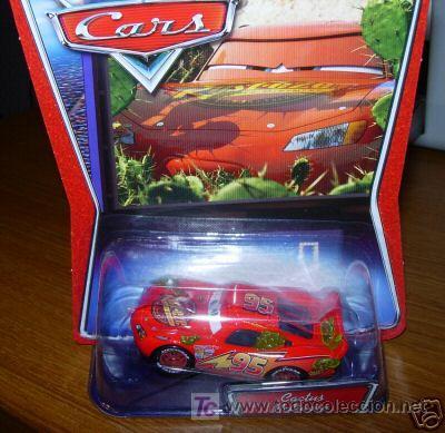 Disney pixar cars mcqueen cactus comprar coches en miniatura a otras escalas en todocoleccion - Juguetes de cars disney ...