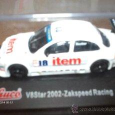 Coches a escala: SCHUCO ---- V8STAR 2002 - ZAKSPEED RACING - BECKER 1/87. Lote 17729570