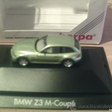 Coches a escala: HERPA -----BMW Z3 M COUPE --- 1/87. Lote 24591027