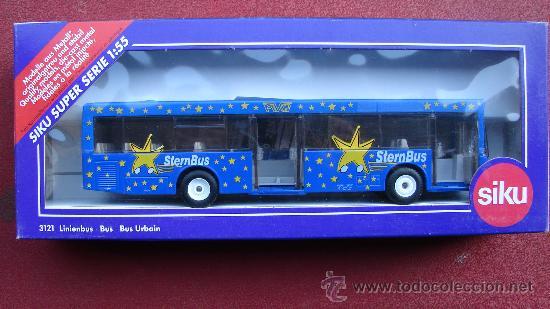 SUPER SERIE - STERN BUS - BUS URBANO - ESCALA 1/ 55 - SIKU (Juguetes - Coches a Escala Otras Escalas )