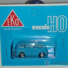 Coches a escala: EKO FIAT 600 MULTIPLA REF 2031 COLOR AZUL. Lote 23733531
