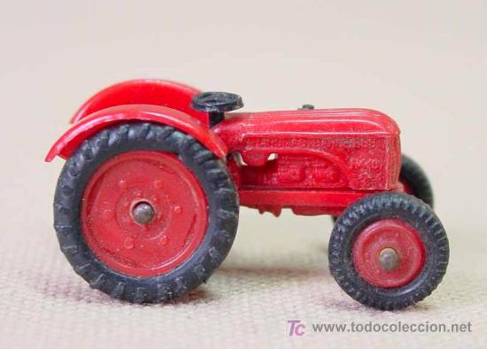 TRACTOR DE PLASTICO MINI CARS ANGUPLAS 1960S 1:86 (Juguetes - Coches a Escala Otras Escalas )