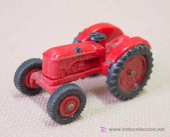 Coches a escala: TRACTOR DE PLASTICO MINI CARS ANGUPLAS 1960s 1:86 - Foto 2 - 22932610