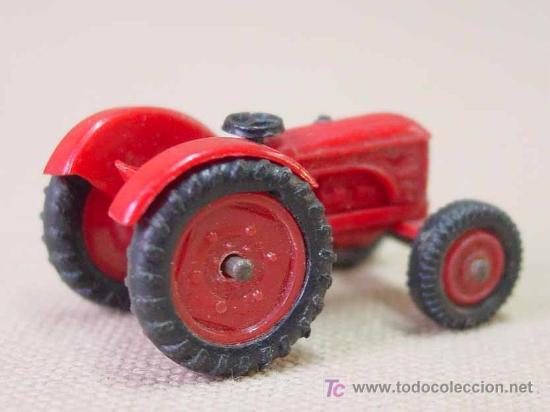 Coches a escala: TRACTOR DE PLASTICO MINI CARS ANGUPLAS 1960s 1:86 - Foto 3 - 22932610
