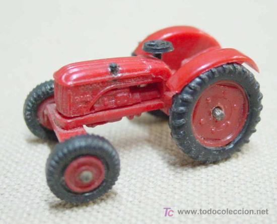 Coches a escala: TRACTOR DE PLASTICO MINI CARS ANGUPLAS 1960s 1:86 - Foto 8 - 22932610