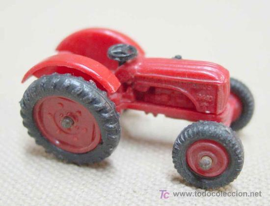 Coches a escala: TRACTOR DE PLASTICO MINI CARS ANGUPLAS 1960s 1:86 - Foto 7 - 22932610