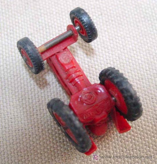 Coches a escala: TRACTOR DE PLASTICO MINI CARS ANGUPLAS 1960s 1:86 - Foto 9 - 22932610