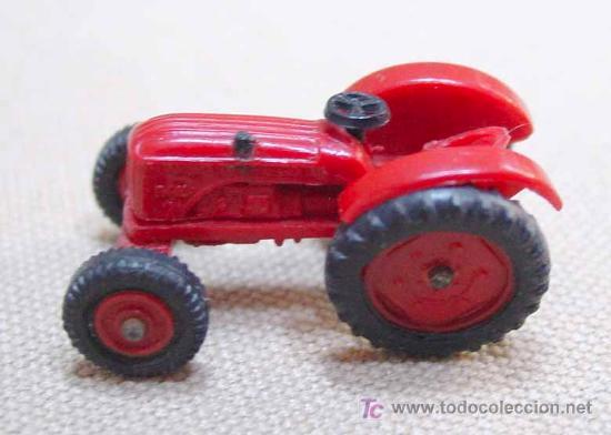 Coches a escala: TRACTOR DE PLASTICO MINI CARS ANGUPLAS 1960s 1:86 - Foto 5 - 22932610