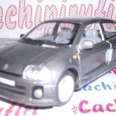 Coches a escala: RENAULT CLIO SPORT V6 ESCALA 1,30 DE KINSMART DE METAL. Lote 26679307