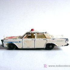 Coches a escala: FORD GALAXIE, MATCHBOX SERIES, MADE IN ENGLAND BY LESNEY. Lote 17600493