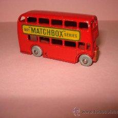 Coches a escala: MATCHBOX. LONDON BUS, REF.5B DE LESNEY, AÑO 1957.. Lote 18331057