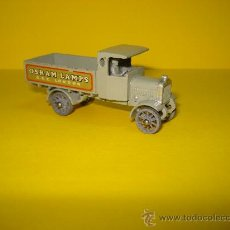 Coches a escala: MATCHBOX. AEC Y TYPE LORRY, REF.Y-6A DE LESNEY, AÑO 1957.. Lote 18343746