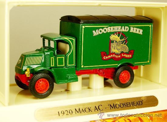 MACK AC 1920 MOOSHEHEAD BEER LAGER - MODEL YESTERYEAR COLLECTION MATCHBOX COLLECTIBLES NUEVO EN CAJA (Juguetes - Coches a Escala Otras Escalas )