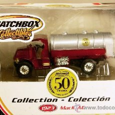 Coches a escala: MACK AC TANKER SPECIAL 50 ANIVERSARIO - MODEL YESTERYEAR COLLECTION MATCHBOX COLLECTIBLES NUEVO/CAJA. Lote 26877867