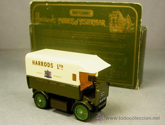 Coches a escala: WALKER ELECTRIC VAN 1919 HARRODS - Y29 - Antiguo MATCHBOX Yesteryear 1984 M.England - NUEVO en CAJA - Foto 1 - 26767763