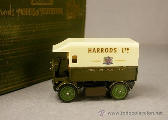 Coches a escala: WALKER ELECTRIC VAN 1919 HARRODS - Y29 - Antiguo MATCHBOX Yesteryear 1984 M.England - NUEVO en CAJA - Foto 2 - 26767763