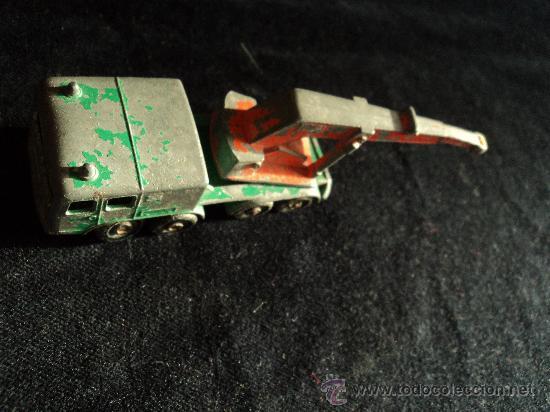 Coches a escala: GRUA. 7 CM LARGO WHEEL CRANE - Foto 2 - 21947996