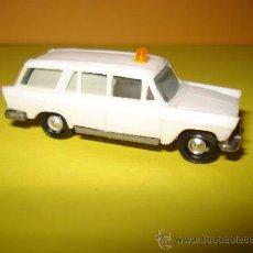 Coches a escala: FIAT 1800 AMBULANCIA DE EKO EN ESCALA 1/88 H0. . Lote 25502331