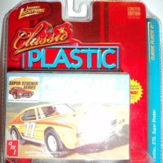 Coches a escala: COCHE ´71 PONTIAC GTO SUPER STOCKER, ESCALA 1/64, MARCA JOHNNY LIGHTNING.. Lote 26976274