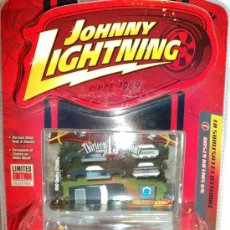Coches a escala: COCHE SHELBY 69, GT500 ESCALA 1/64, MARCA JOHNNY LIGHTNING.. Lote 27075922