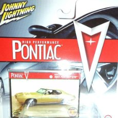 Coches a escala: COCHE 1969 PONTIAC GTO, ESCALA 1/64, MARCA JOHNNY LIGHTNING.. Lote 27045607
