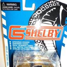 Coches a escala: COCHE FORD MUSTANG 1968 SHELBY G.T. 500, ESCALA 1/64, MARCA SHELBY.. Lote 26903593